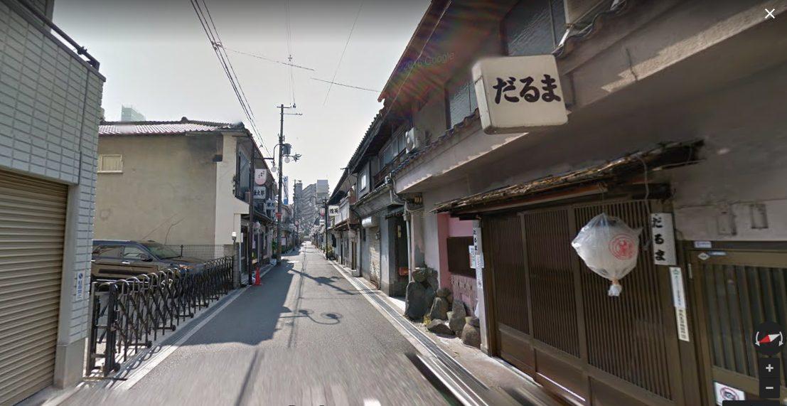 飛田新地だるまの写真